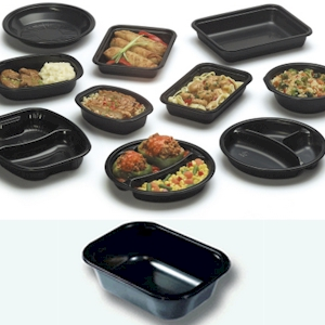 Dual Ovenable CPET Containers